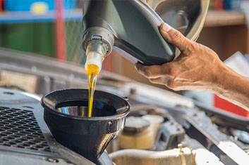 Vidange huile de voiture